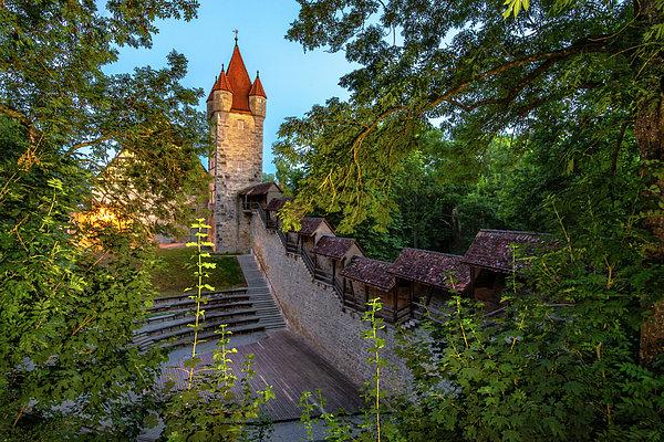 Norma Brandsberg - Rothenburg Stoberleinsturm City Wall