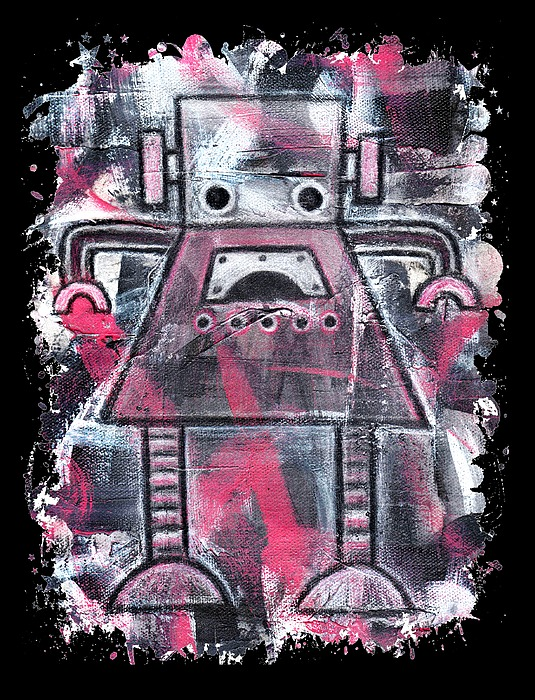 Ruby Robot Graphic Painting