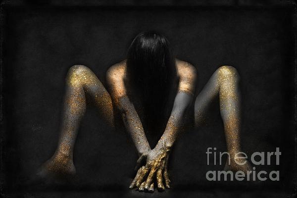 Sad Woman 01 Digital Art