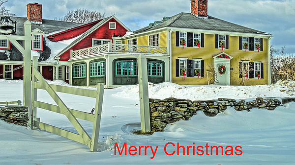 Bill Dussault - Salem Cross Inn in Winter  Christmas card