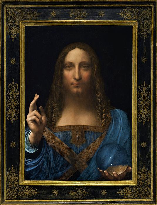 Leonardo da Vinci - Salvator Mundi - Digital  Restored Edition