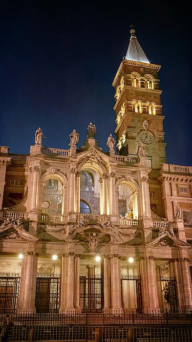 Joan Carroll - Santa Maria Maggiore Basilica Rome Italy Night