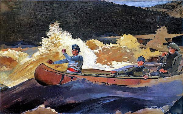 Winslow Homer - Shooting the Rapids, Saguenay River - Digital Remastered Edition