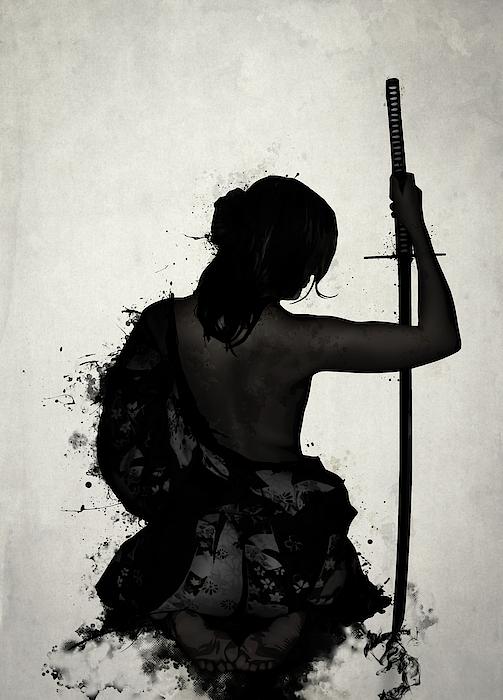 Nicklas Gustafsson - Female Samurai - Onna Bugeisha