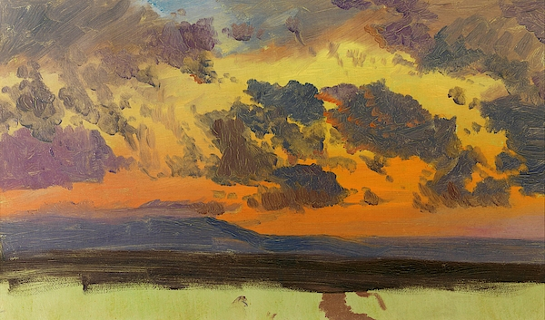 Frederic Edwin Church - Sky at sunset, Jamaica, West Indies - Digital Remastered Edition