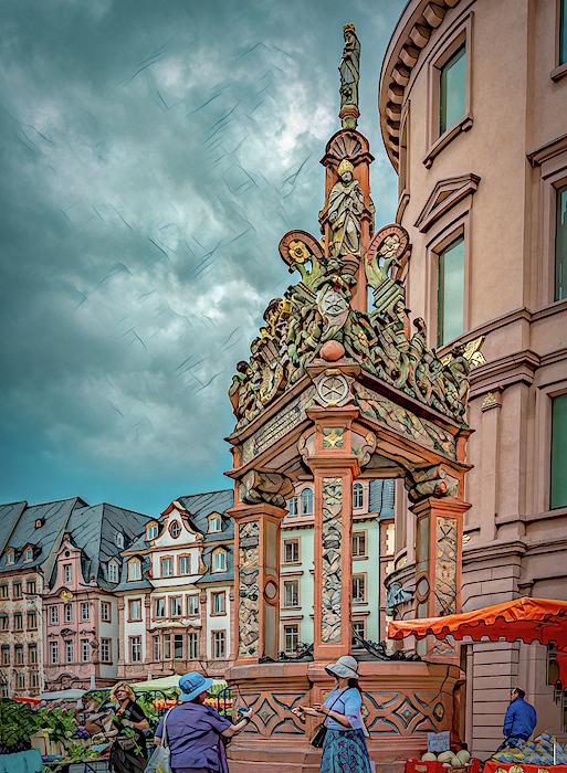Marcy Wielfaert - Sneak Peek of the Mainz Market