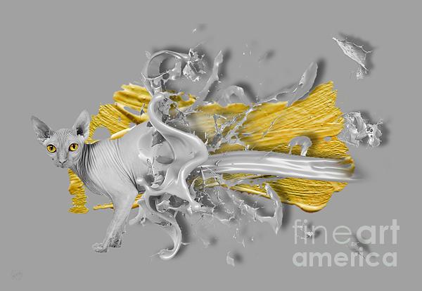 Sphynx 03 Digital Art