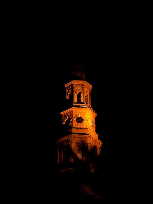 Matt Richardson - St Philips Church at Night, Charleston