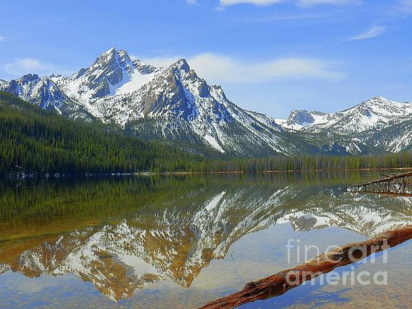 Art Sandi - Stanley Lake Sawtooth Mountains Stanley Idaho