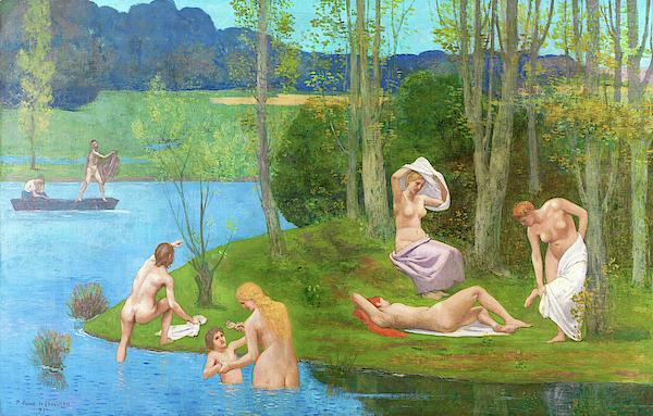 Pierre Puvis de Chavannes - Summer - Digital Remastered Edition