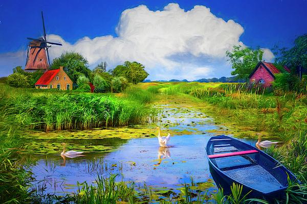 Debra and Dave Vanderlaan - Summer in Holland Painting