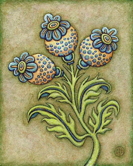 Amy E Fraser - Tapestry Flower 6