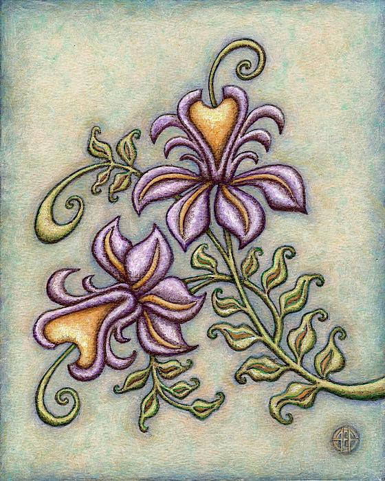Amy E Fraser - Tapestry Flower 8