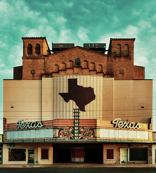 The Abandoned Texas Theatre