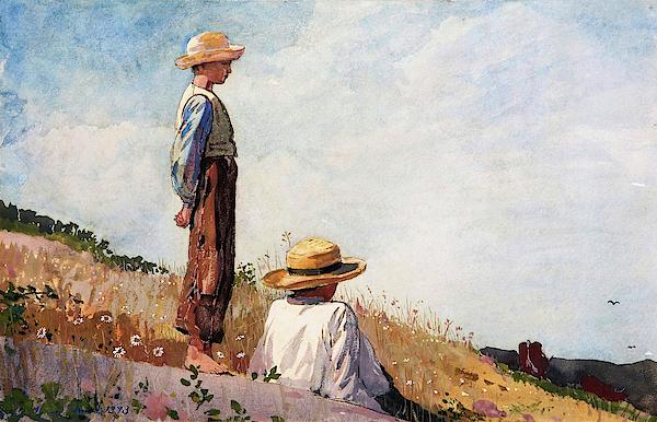 Winslow Homer - The Blue Boy - Digital Remastered Edition