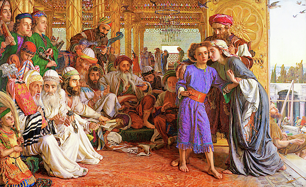William Holman Hunt - The Finding of the Saviour in the Temple - Digital Remastered Edition