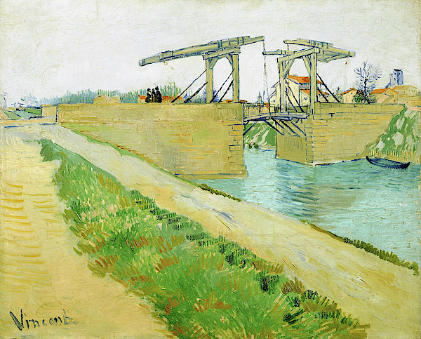 Vincent van Gogh - The Langlois bridge - Digital Remastered Edition
