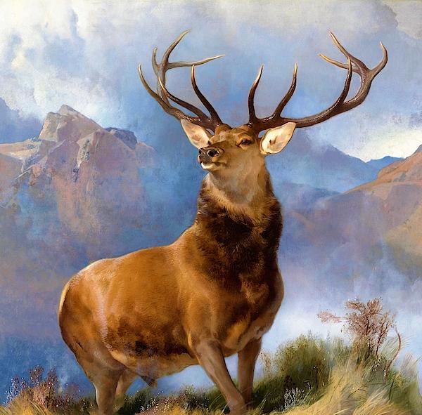 Edwin Henry Landseer - The Monarch of the Glen - Digital Remastered Edition