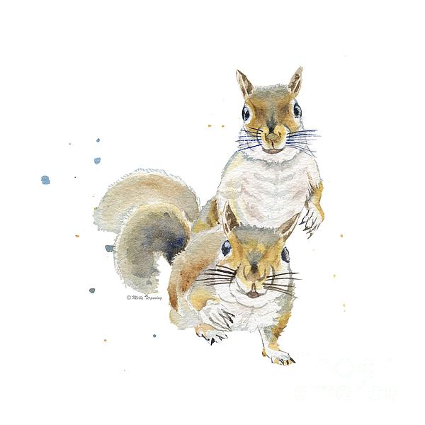 Melly Terpening - Two Squirrels