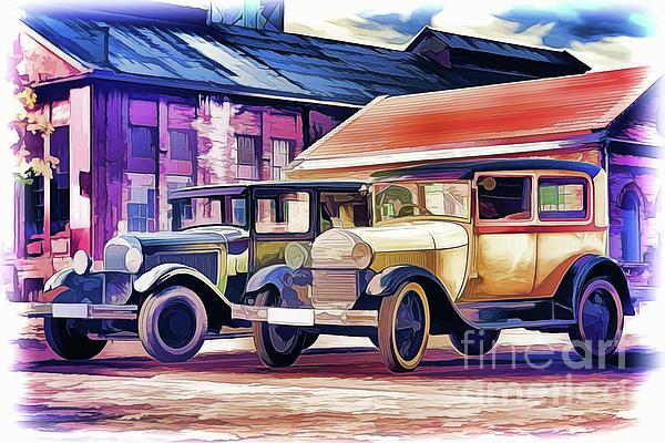 Ray Shrewsberry - Vintage Cars A18-118