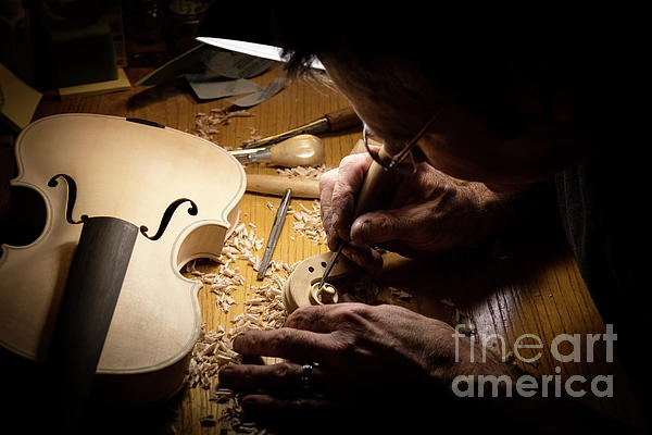 Wildlife Fine Art - Violin Luthier