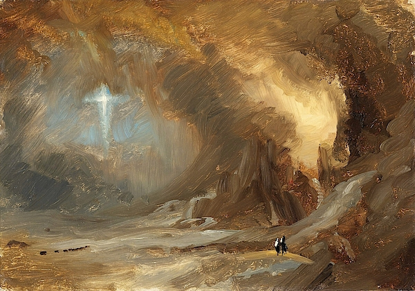 Frederic Edwin Church - Vision of the Cross - Digital Remastered Edition