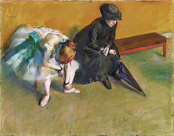Edgar Degas - Waiting - Digital Remastered Edition