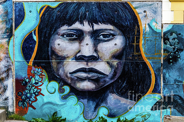 Lyl Dil Creations - Wall Painting in Ushuaia, Argentina