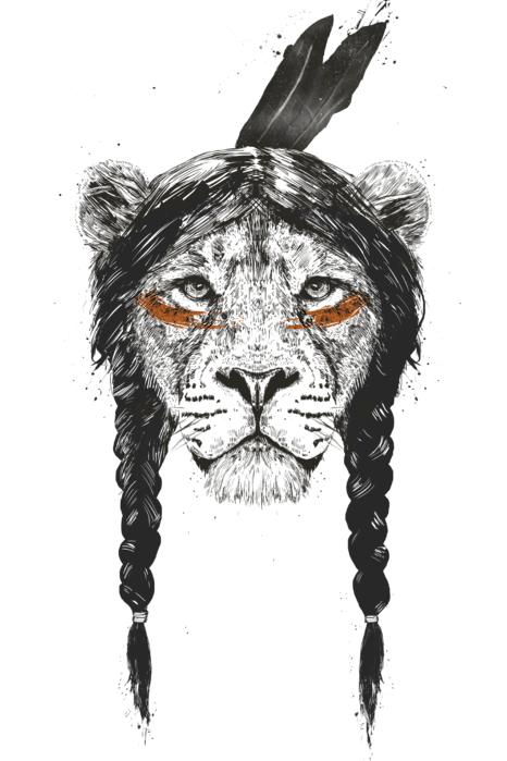 Warrior Lion T Shirt For Sale By Balazs Solti