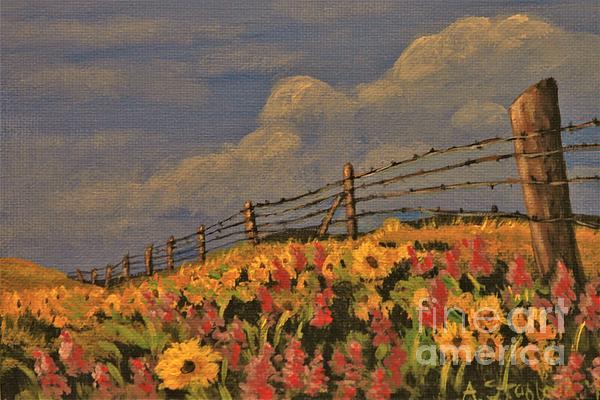 Angela Stafford - Wildflowers