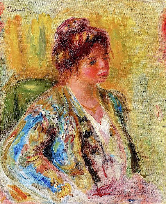 Pierre-Auguste Renoir - Woman in oriental costume - Digital Remastered Edition
