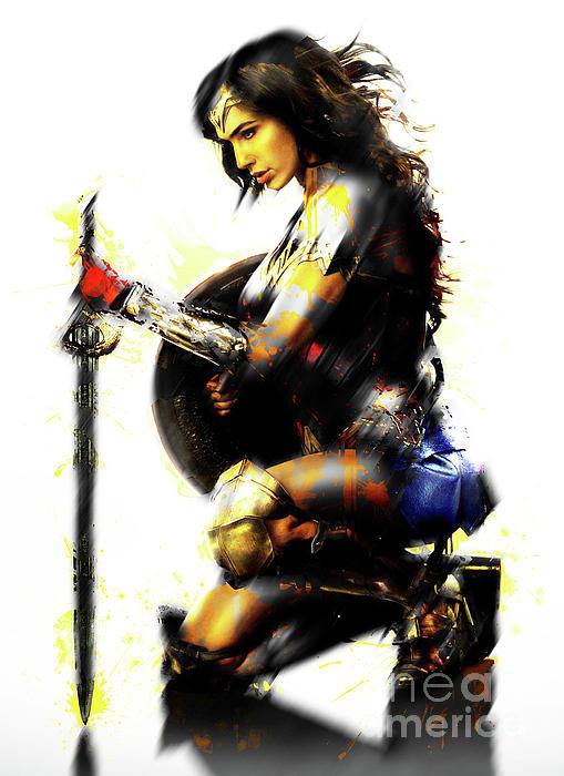 Wonder Woman 3 iphone case