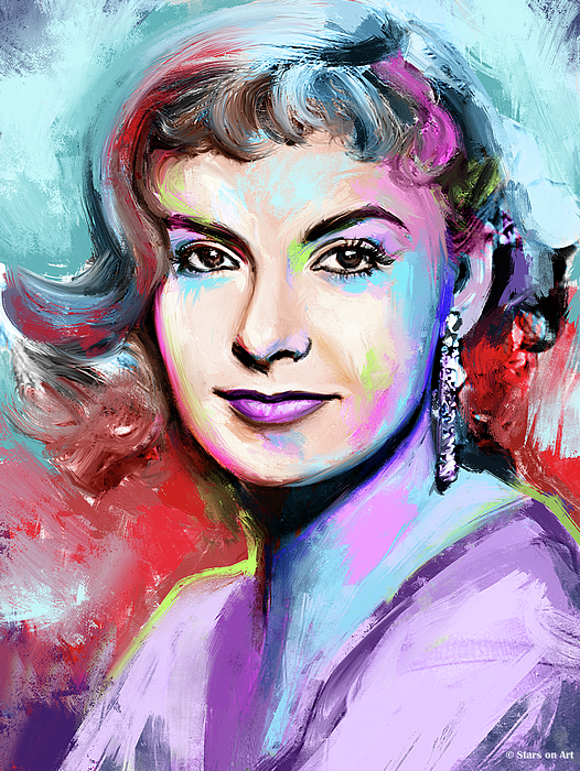 Joanne Woodward Painting