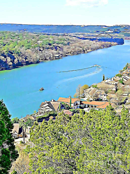 Tracy Ruckman - Austin View of Colorado River