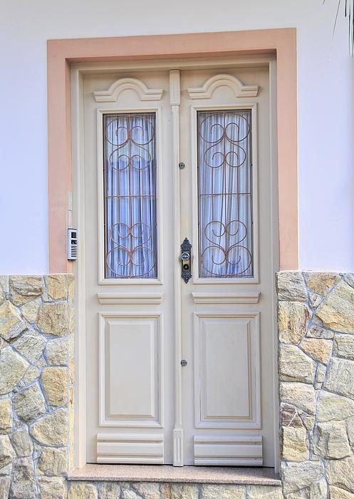 Plinia Prints - Beige door