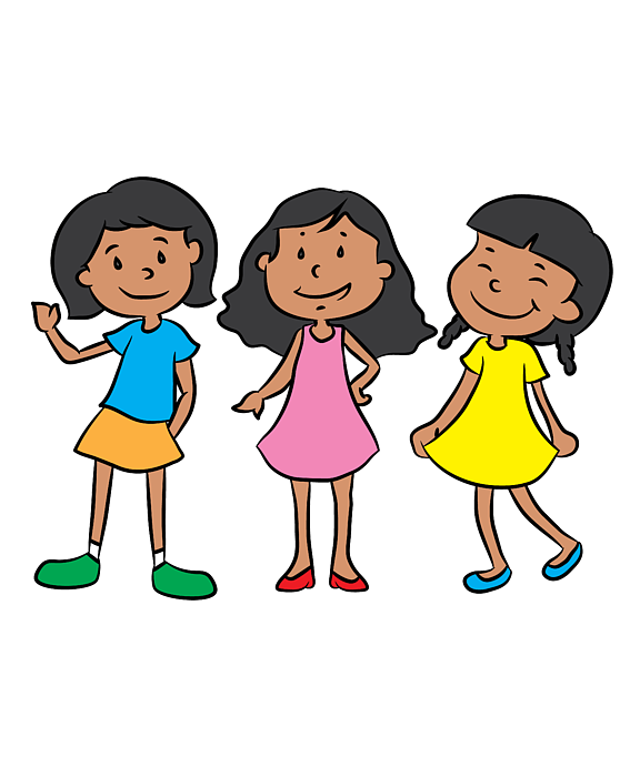 Best Friends Of Three Best Friends Forever Girl Squad Gift Spiral Notebook For Sale By Haselshirt