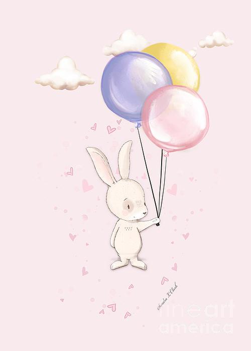 Sandra Clark - Bunny Love Pink