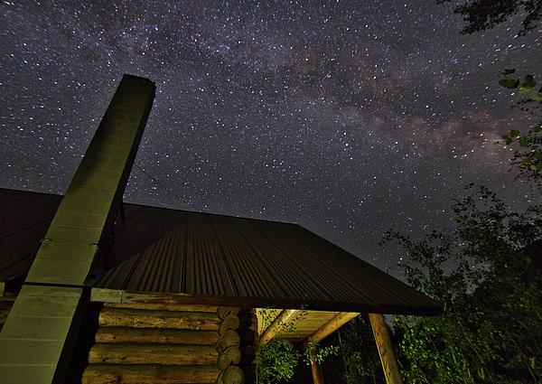David Thompson - Log Cabin Under the Milky Way