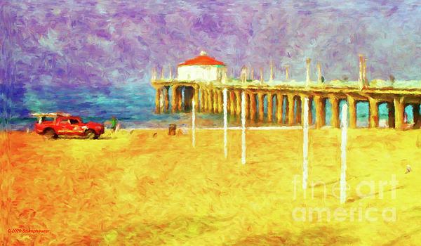 Jerome Stumphauzer - Manhattan Beach Pier