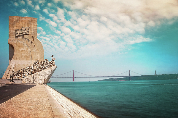 Carol Japp -  Monument To The Discoveries Lisbon Portugal