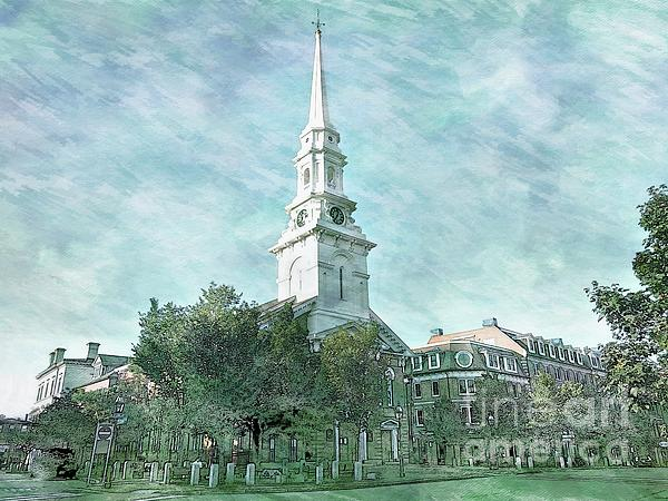 Marcia Lee Jones - North Church, Portsmouth,Nh