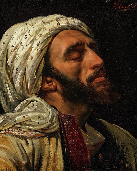 Portrait of an Arab Man Weekender Tote Bag for Sale by Horace Vernet
