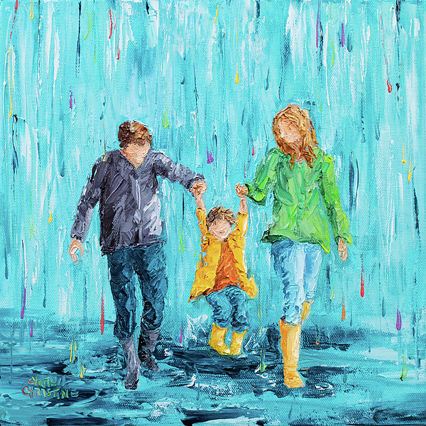 Cynthia Christine - Puddle Jumping - Family Style No 7