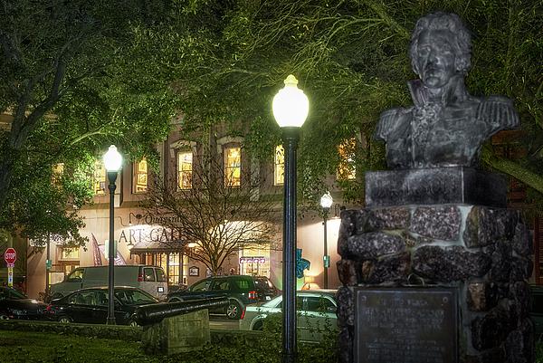 Bill Chambers - Quayside Art Gallery at Night