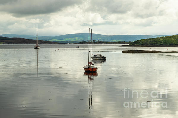 Catherine Sullivan - Reflections Of Boats And Sky