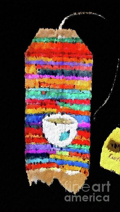 Terri Price - Serape A Hand-painted Tea Bag