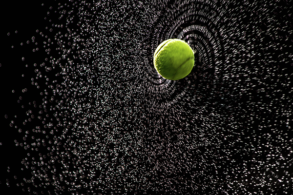 Nancy Jacobson - Spin Serve     Tennis Ball