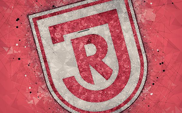 Ssv Jahn Regensburg 4k German Football Club Creative Logo Geometric Art Emblem Regensburg Germany Fo Kids T Shirt For Sale By Phelp Shawkins