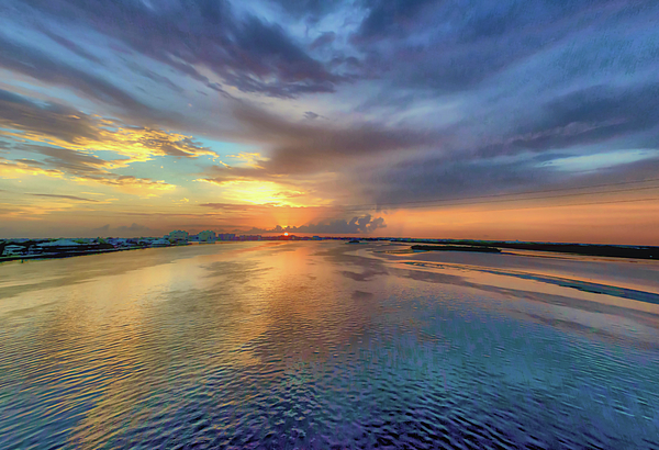 Debra Kewley - Sunset on The Marco River