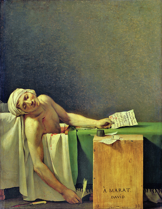 Jacques-Louis David - The Death of Marat - Digital Remastered Edition